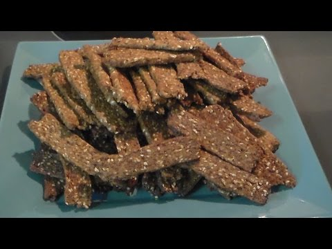Sesame Sticks with Flax Meal