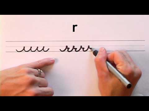 How To Write in Cursive // Lesson 2 // A complete Course // FREE Worksheets