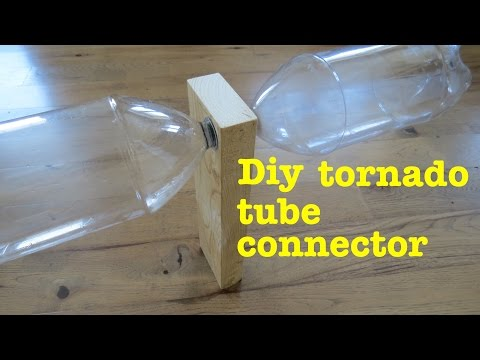 how to make a ● cyclone tube tornado vortex CONNECTOR