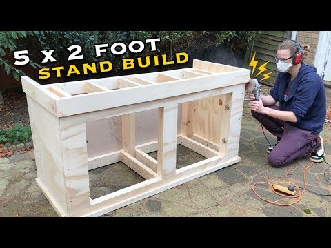 Building an Aquarium Stand (5'x2'x2') - Part Two