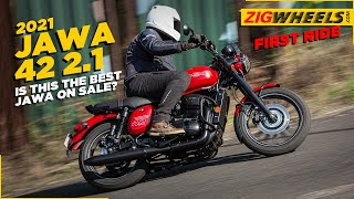 Jawa 42  2.1 First Ride Review | The BEST Jawa on sale?