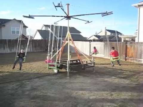Homemade Carnival Ride