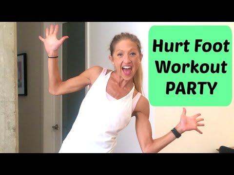 Hurt Foot Fitness WORKOUT PARTY!! 🎉🎊🎉🎊