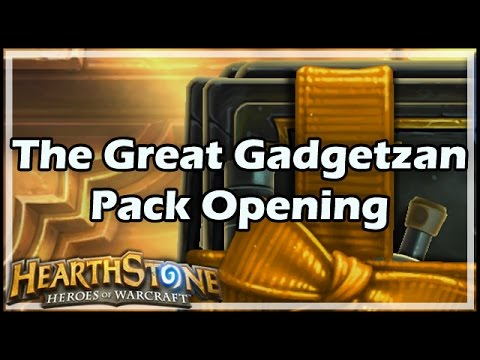 [Hearthstone] The Great Gadgetzan Pack Opening