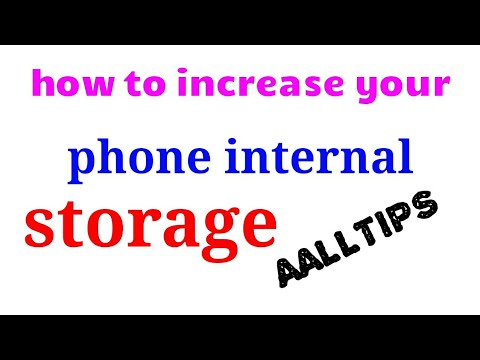 How to increase your mobile storage