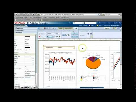 How to create Interactive Report with BI Publisher 11G