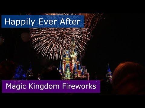 Happily Ever After | Magic Kingdom | Walt Disney World | Florida 2017