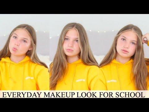 Everyday Makeup FOR SCHOOL | School Makeup Tutorial