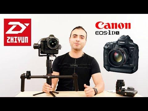 ZHIYUN Crane 2 Complete Setup Training For Canon 1DX Mark 2