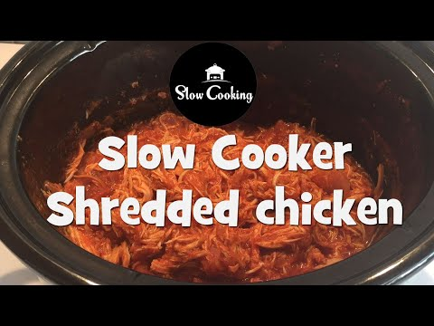 This Slow Cooker Shredded Chicken will become a Family Favourite
