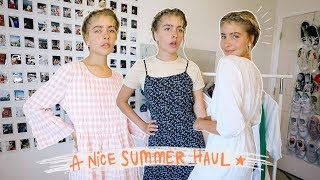 SUMMER TRY-ON HAUL