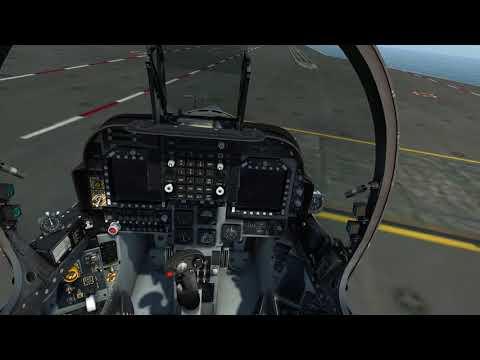 DCS:World - AV-8B N/A Carrier Bug