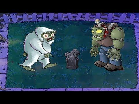 Plants vs Zombies Hack - Zombie Yeti vs Dr. Zomboss's Revenge