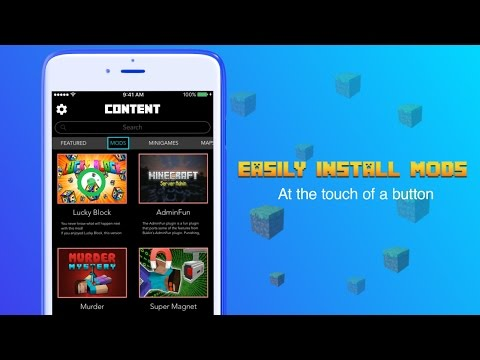 Easily Install Minecraft MODS on iOS devices (NO JAILBREAK)