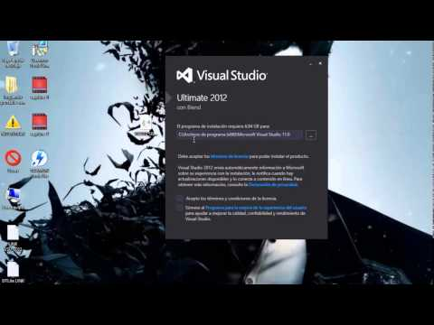 Como descargar e instalar Visual Studio 2012 Ultimate desde 0