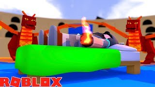 SECRET AT THE VERY TOP!! | ROBLOX SLEEPING SIMULATOR