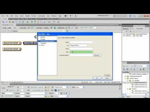 Dreamweaver Training Tutorial - Rollover Images | Dreamweaver Training in Los Angeles or Live Online