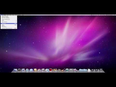 Mac OS X: Basics - Introduction to the Apple Menu