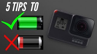 Tips on How to Save Battery Life for GoPro Hero 7 Black and other GoPro Models