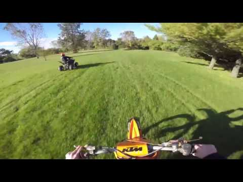 KTM Dirtbike Riding
