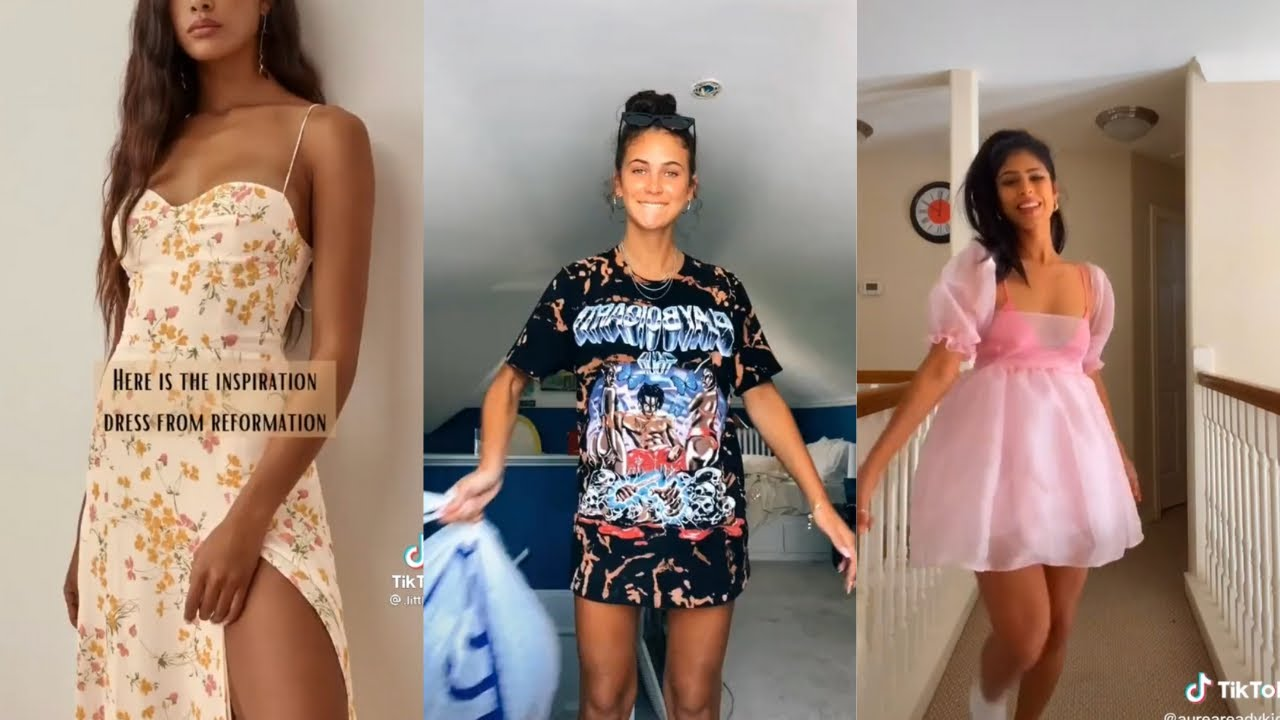 DIY Thrift Flip Ideas | Tiktok Sewing Clothes Compilation