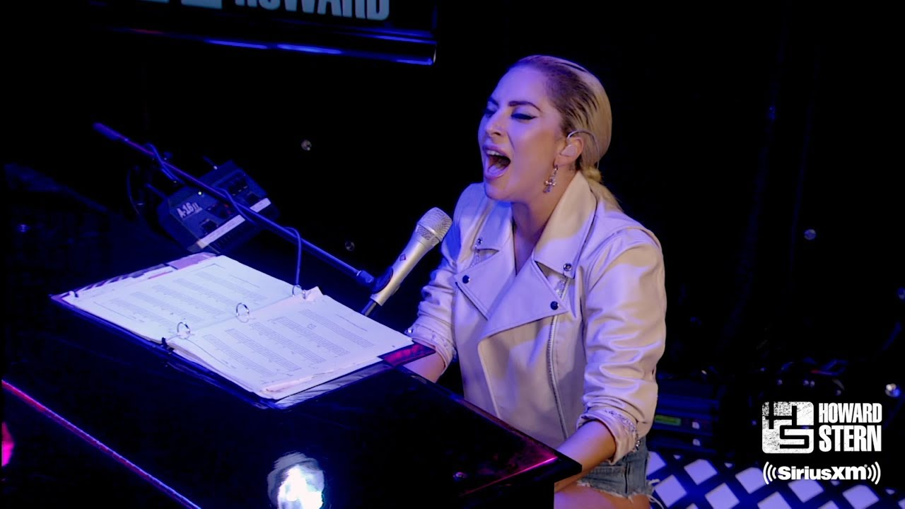 "Lady Gaga ""Million Reasons"" on the Howard Stern Show (2016)"
