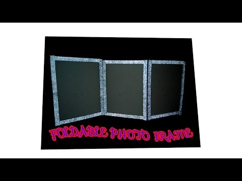 HOW TO MAKE FOLDABLE PHOTO FRAME | FULL TUTORIAL | HOW TO MAKE |
