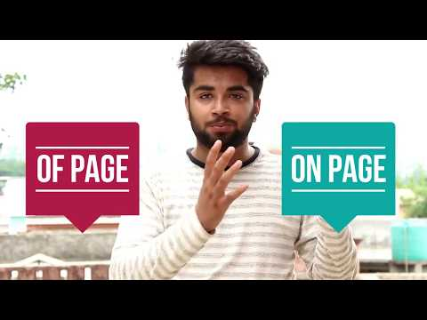 What is SEO | How SEO Work | How to Rank a Website | Difference in On & Of Page SEO - 1st Part