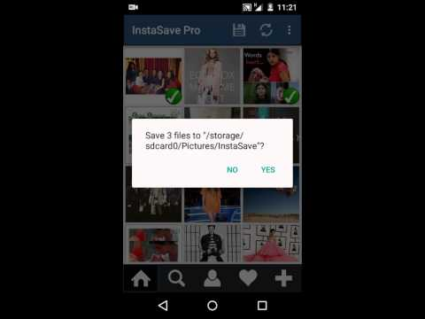 Android : How to save Instagram Pictures & Videos