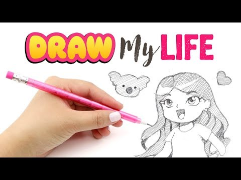 Draw My Life!!! Childhood, Career, Illness and More - Things You Never Knew :)