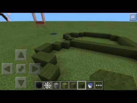 Minecraft PE: Created creation EP1 Lilly pad