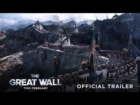 The Great Wall - Official Trailer #2 - In Theaters This February