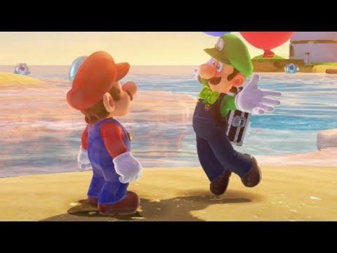 Super Mario Odyssey - Luigi's Balloon World