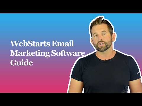 WebStarts Email Marketing Software Guide