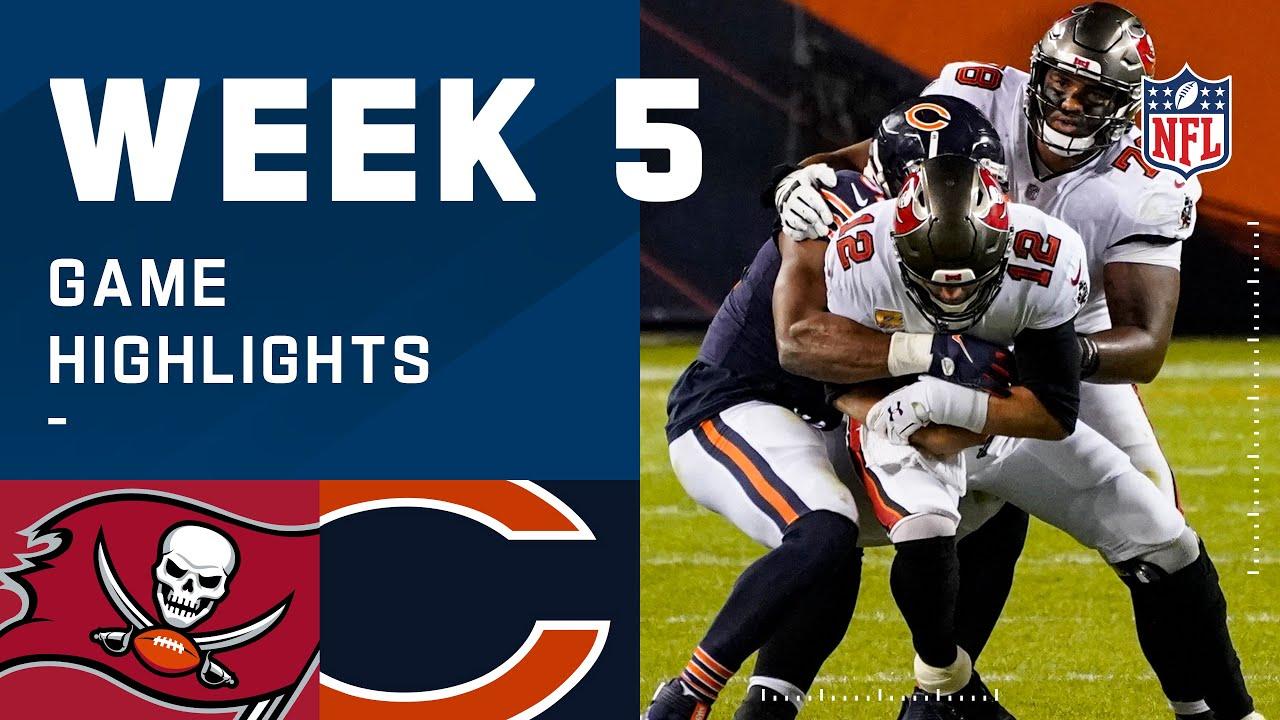 Buccaneers vs. Bears Week 5 Highlights | NFL 2020