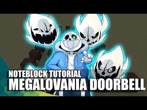 Minecraft Noteblock: Undertale Megalovania Doorbell!