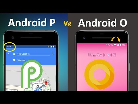 6 Biggest Visual Changes in Android P Developer Preview | Android P Vs Oreo