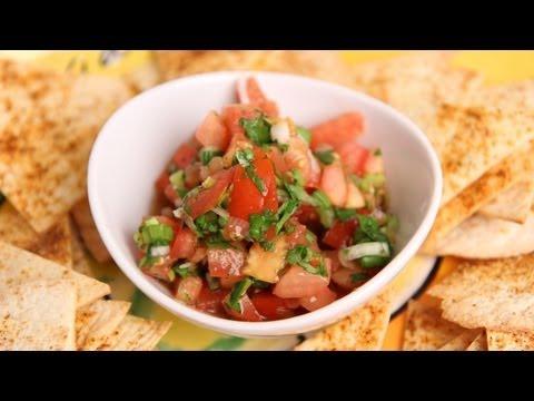 Homemade Pico de Gallo Salsa Recipe - Laura Vitale - Laura in the Kitchen Episode 379