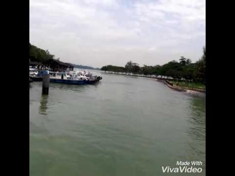 Goes to changi village Singapore