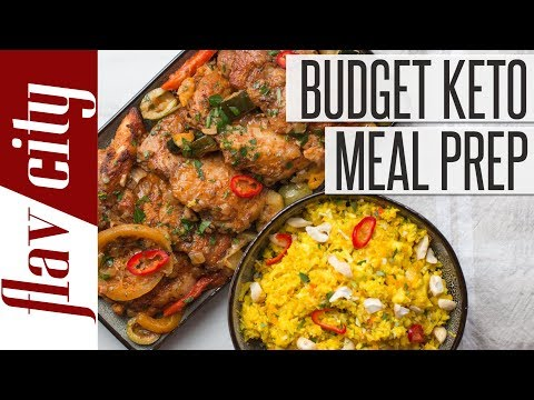Keto Diet On A Budget - Low Carb Ketogenic Meal Plan