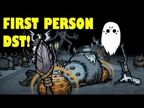 First Person Don't Starve Together (DST) - Part 1 - Pickle's Mod