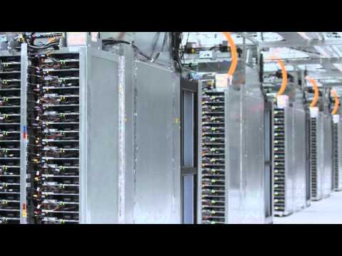 Explore a Google data center with Street View