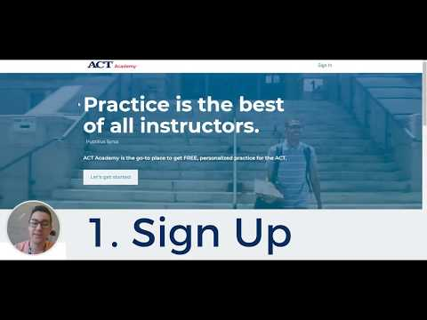 ACT Academy – 3 Easy Steps to improve your ACT test score for free!