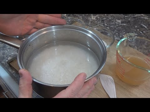 Apple Cider Vinegar Sushi Rice / Vegan Sushi Recipe
