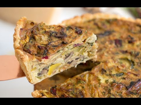 How to Make Vegetable Quiche