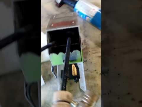 Tinning copper sheet metal