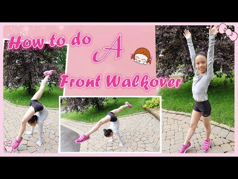 How to do a Front Walkover in Gymnastics? | RG Selena