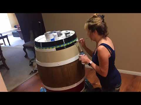 Wine Barrel 2017 by Tracy Weinzapfel Studios