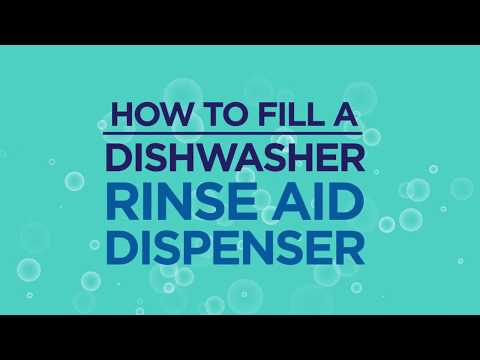 How to Fill a Dishwasher Rinse Aid Dispenser