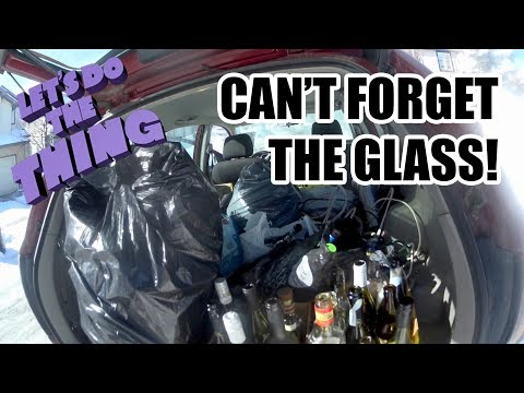 Picking Trash? Protect Your Stash! Heaps Of Glass And Scrap